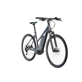 Cube Cross Hybrid Pro 400 E-Cross Bike Trapez grey